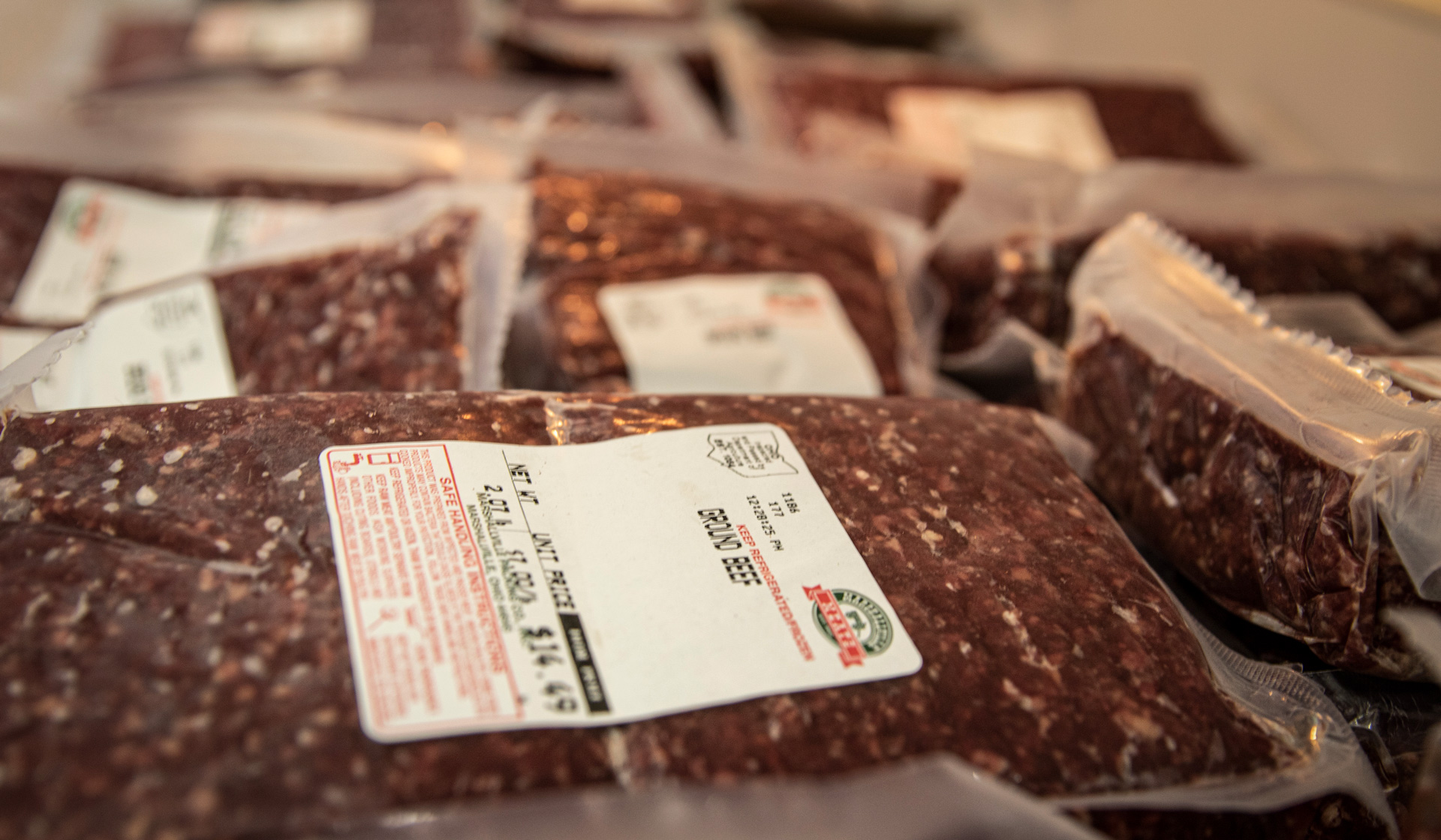 Chaffee's freezer beef business started as a grass-fed alternative for his patients.