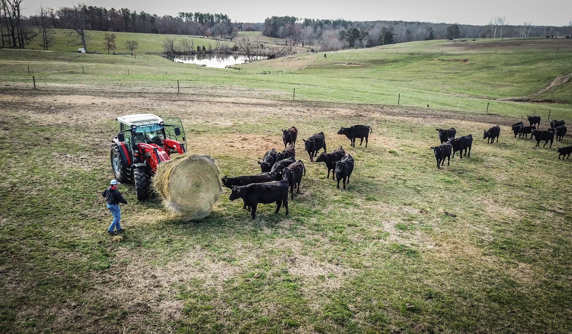 """""""When you're feeding cattle, you're in and out of the cab a number of times."""""""