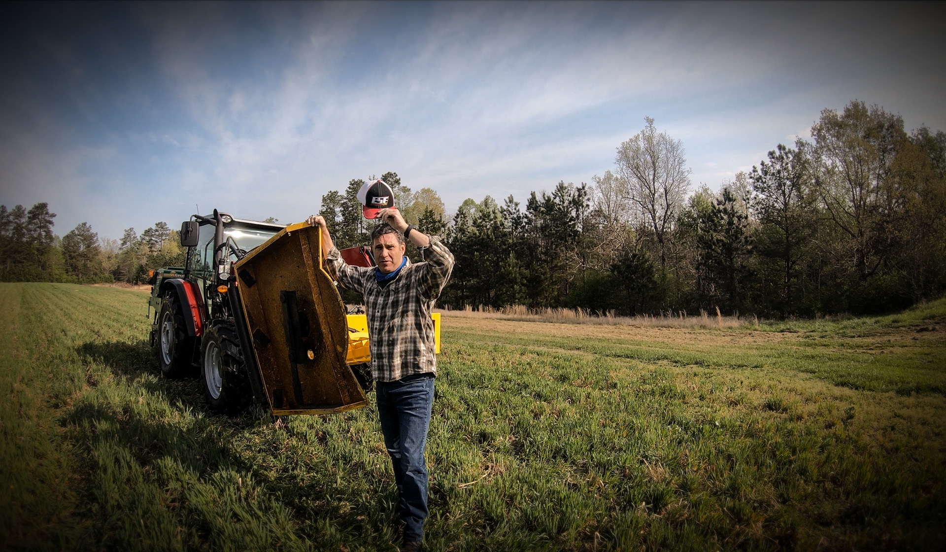 Sadler spends days coaching, hunting and managing food plots on his acreage.