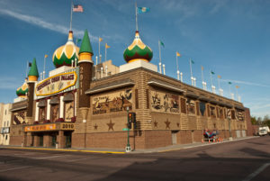 The iconic Corn Palace in Mitchell, S.D.