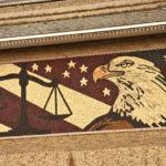 More than 1,200 ears went into this eagle mosaic.