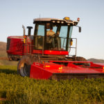 """""""Our customers will also be amazed at how quiet and comfortable the cab has become,"""" says Dean Morrell, AGCO product marketing manager for hay and forage equipment."""