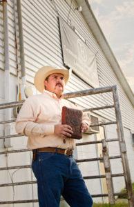 Nathan Duncan, pastor of Thousand Hills Cowboy Church