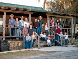 Meet the 6th, 7th, and 8th generations of Lightseys to herd cattle in central Florida.
