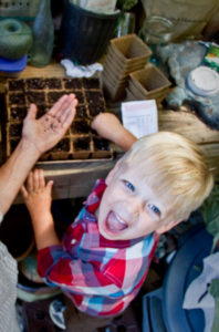 Starting seed early in the season is a great way to get kids invested in the family garden.