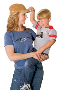 Ladies' Corduroy Short-Bill Hat $20.95 /// Ladies' Script T-shirt (sizes M-XL, $16.95; size 2XL, $18.95) /// Toddler Rugby T-shirt (sizes 2T-4T) $22.95
