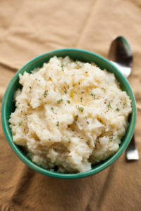 Garlic Mashed Potatoes and Turnips