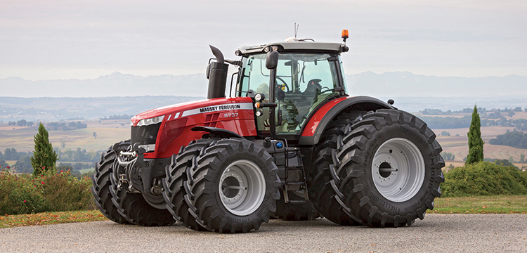 Massey Ferguson 8700 Series A Benchmark For Power