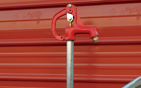 Let It Flow: How to Install a Frost-Free Water Hydrant | myFarmLife com