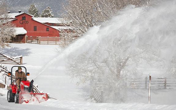 Let It Snow! Massey Ferguson Snow Blowers | myFarmLife.com