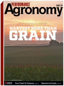 Summer 2018 Performance Agronomy Cover