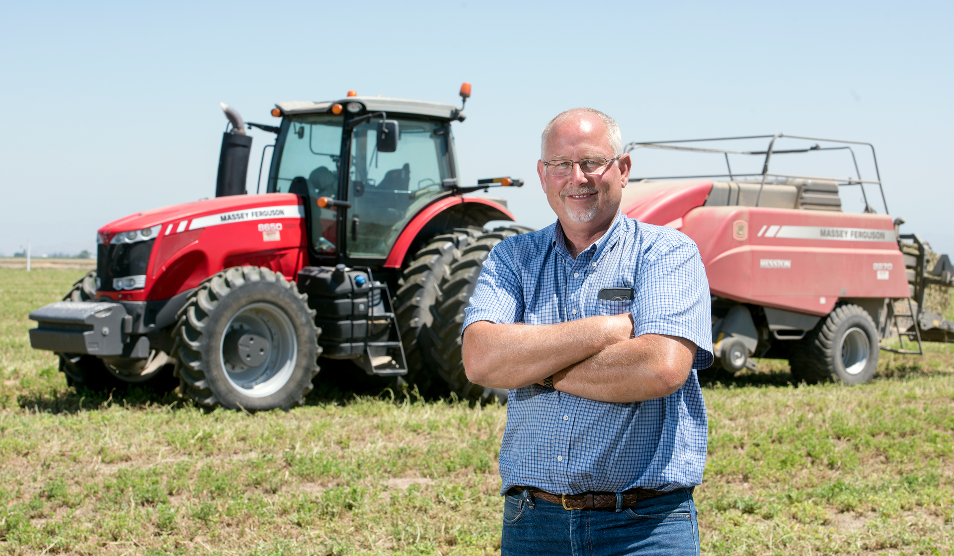 Massey Ferguson and Hesston: Paired Perfection | myFarmLife com