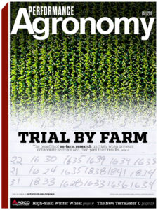 Fall 2018 Performance Agronomy Cover