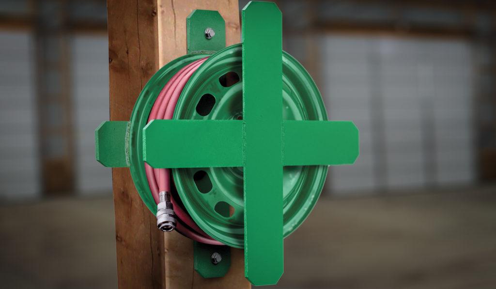 Wheel to Reel: How to Build a DIY Hose or Cable Reel | myFarmLife com
