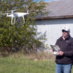 The Barnards' diverse business ventures include a business selling drones for agricultural applications.