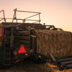 Large square balers make a dense, stackable bale but require more tractor horsepower to produce.